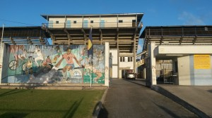 The Barbados National Stadium-home to the course and to the only velodrome on the island.
